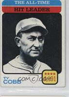 Ty Cobb (All-Time Batting Leader) [Noted]
