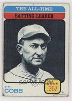 Ty Cobb (All-Time Batting Leader) [Poor to Fair]