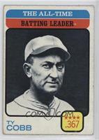 Ty Cobb (All-Time Batting Leader) [PoortoFair]