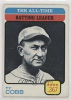 Ty Cobb (All-Time Batting Leader) [GoodtoVG‑EX]