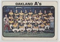 Oakland Athletics Team [Poor]