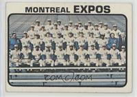 High # - Montreal Expos Team