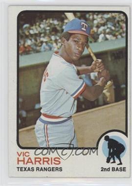 1973 Topps - [Base] #594 - Vic Harris