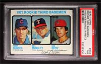 Rookie Third Basemen (Terry Hughes, Bill McNulty, Ken Reitz) [PSA 7 N…