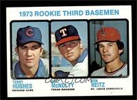 Rookie Third Basemen (Terry Hughes, Bill McNulty, Ken Reitz) [NM]