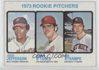 Jesse Jefferson, Dennis O'Toole, Bob Strampe [GoodtoVG‑EX]