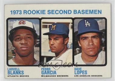 1973 Topps - [Base] #609 - Larvell Blanks, Pedro Garcia, Davey Lopes [GoodtoVG‑EX]