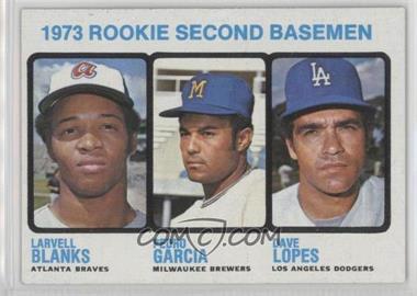 1973 Topps - [Base] #609 - Larvell Blanks, Pedro Garcia, Davey Lopes