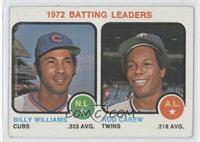 1972 Batting Leaders (Billy Williams, Rod Carew) [Good to VG‑EX]