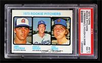 1973 Rookie Pitchers (Jimmy Freeman, Charlie Hough, Hank Webb) [PSA7]