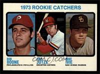 1973 Rookie Catchers (Bob Boone, Skip Jutze, Mike Ivie) [NMMT]