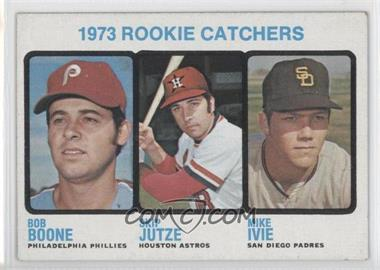 1973 Topps - [Base] #613 - 1973 Rookie Catchers (Bob Boone, Skip Jutze, Mike Ivie)
