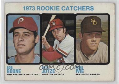 1973 Topps - [Base] #613 - 1973 Rookie Catchers (Bob Boone, Skip Jutze, Mike Ivie) [GoodtoVG‑EX]