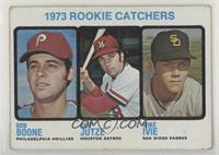 High # - 1973 Rookie Catchers (Bob Boone, Skip Jutze, Mike Ivie) [NoneGoo…