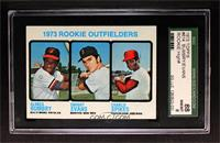 1973 Rookie Outfielders (Alonza Bumbry, Dwight Evans, Charlie Spikes) [SGC&nbsp…
