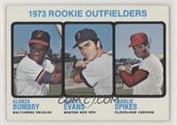 High # - 1973 Rookie Outfielders (Alonza Bumbry, Dwight Evans, Charlie Spikes)