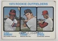 High # - 1973 Rookie Outfielders (Alonza Bumbry, Dwight Evans, Charlie Spikes) …