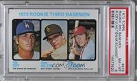 1973 Rookie Third Basemen (Ron Cey, John Hilton, Mike Schmidt) [PSA8&nbsp…