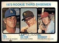 1973 Rookie Third Basemen (Ron Cey, John Hilton, Mike Schmidt) [FAIR]