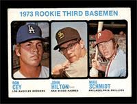 1973 Rookie Third Basemen (Ron Cey, John Hilton, Mike Schmidt) [VGEX+]