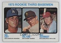1973 Rookie Third Basemen (Ron Cey, John Hilton, Mike Schmidt) [Goodto&nb…