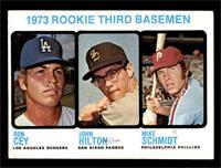1973 Rookie Third Basemen (Ron Cey, John Hilton, Mike Schmidt) [VGEX]