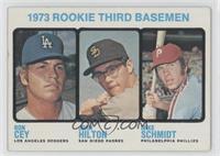 1973 Rookie Third Basemen (Ron Cey, John Hilton, Mike Schmidt)