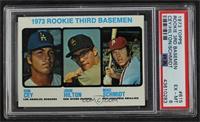 High # - 1973 Rookie Third Basemen (Ron Cey, John Hilton, Mike Schmidt) [PSA&nb…