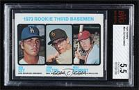 High # - 1973 Rookie Third Basemen (Ron Cey, John Hilton, Mike Schmidt) [BVG&nb…