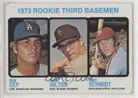 High # - 1973 Rookie Third Basemen (Ron Cey, John Hilton, Mike Schmidt) [Good&n…