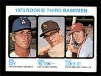 High # - 1973 Rookie Third Basemen (Ron Cey, John Hilton, Mike Schmidt) [EX+]