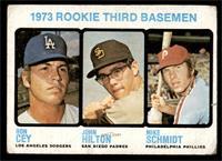 High # - 1973 Rookie Third Basemen (Ron Cey, John Hilton, Mike Schmidt) [FAIR]