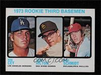 High # - 1973 Rookie Third Basemen (Ron Cey, John Hilton, Mike Schmidt)