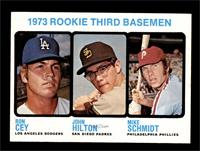 High # - 1973 Rookie Third Basemen (Ron Cey, John Hilton, Mike Schmidt) [NM&nbs…