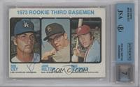High # - 1973 Rookie Third Basemen (Ron Cey, John Hilton, Mike Schmidt) [JSA&nb…