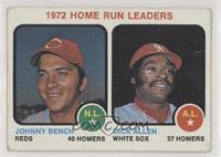1972 Home Run Leaders (Johnny Bench, Dick Allen) [PoortoFair]