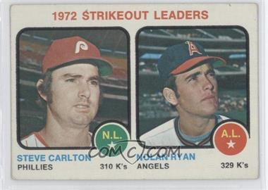 1973 Topps - [Base] #67 - Steve Carlton, Nolan Ryan