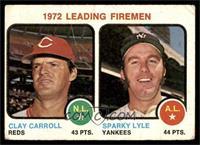 Clay Carroll, Sparky Lyle [GOOD]