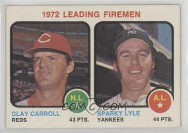 1973 Topps - [Base] #68 - Clay Carroll, Sparky Lyle