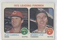 Clay Carroll, Sparky Lyle