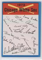 Chicago White Sox Team (Two Stars on Back) [Poor to Fair]