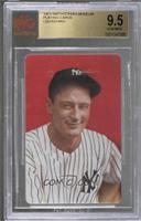 Lou Gehrig [BVG9.5GEMMINT]