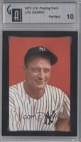 Lou Gehrig [ENCASED]