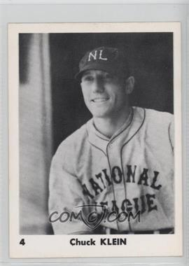 1974 Bra-Mac 1933 National League All-Stars - [Base] #4 - Chuck Klein [Good to VG‑EX]