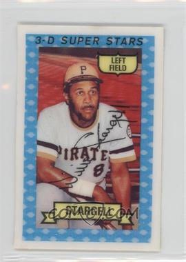 1974 Kellogg's 3-D Super Stars - [Base] #37 - Willie Stargell - Courtesy of COMC.com