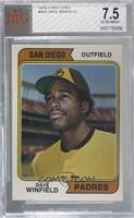 Dave Winfield [BVG 7.5 NEAR MINT+]