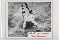 1934 St Louis Cardinals World Champions [Good to VG‑EX]
