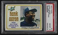 Hank Aaron [PSA8NM‑MT]