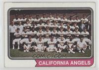 California Angels Team [GoodtoVG‑EX]