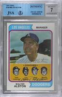 Dodgers Coaches (Walter Alston, Tom Lasorda, Jim Gilliam, Red Adams, Monty Basg…